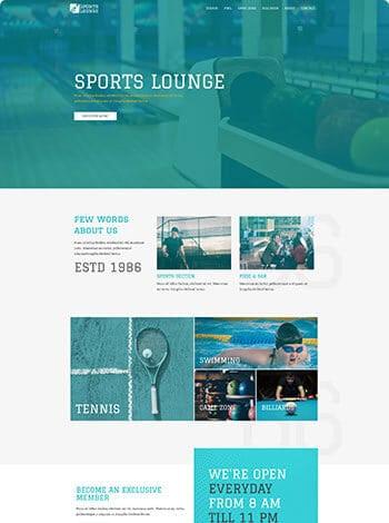 sports-lounge Design