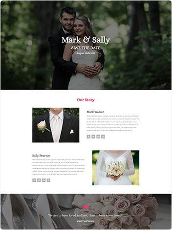 event management web design